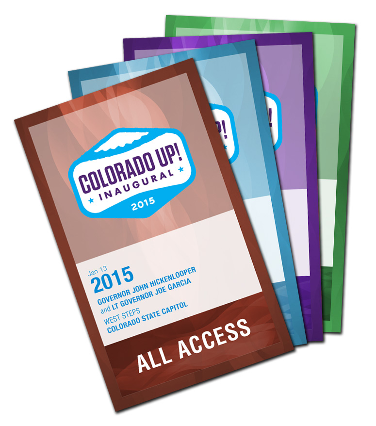 Credential Badges for the Colorado Up! Inaugural
