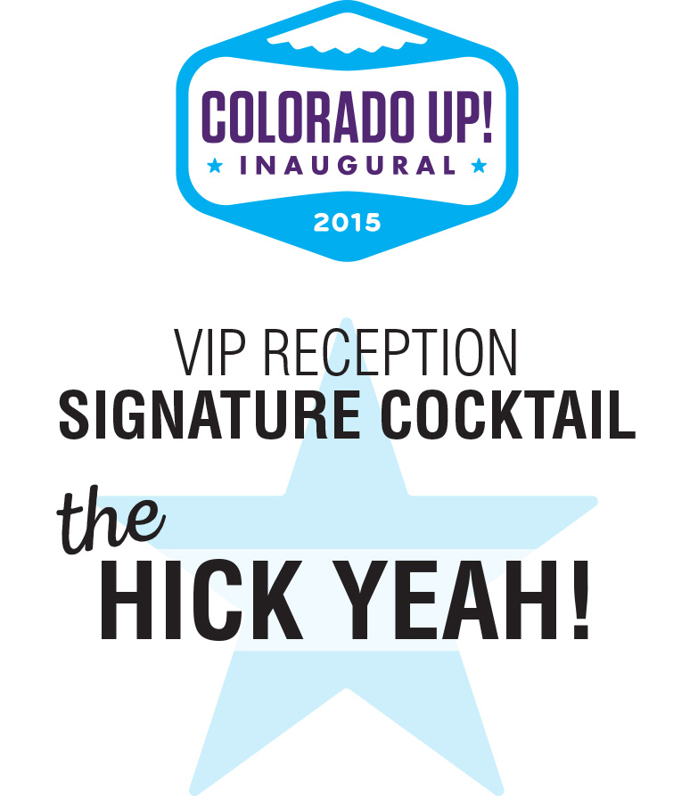 Signage for for Colorado Up! Inaugural