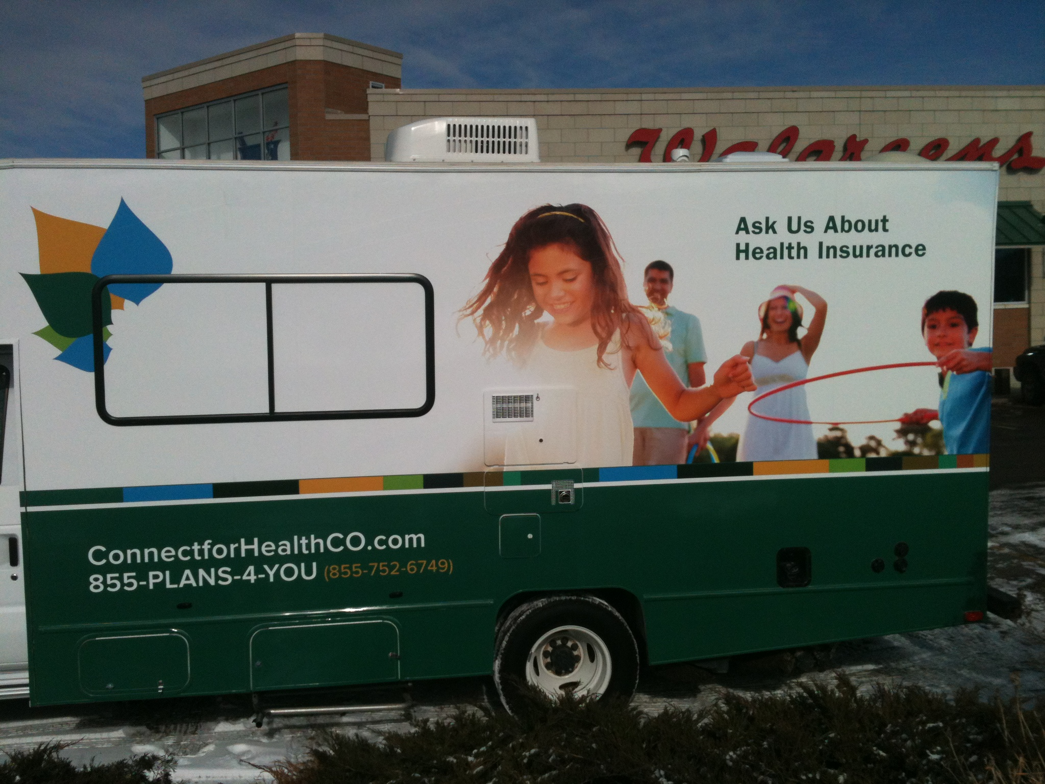 Part of the statewide RV tour, including events at King Soopers and on small-town main streets.