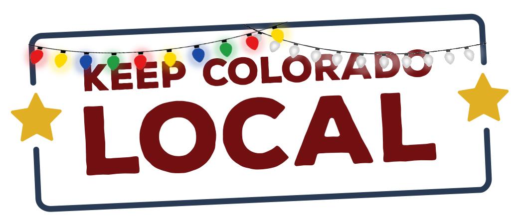 Keep Colorado Local Holiday logo variation