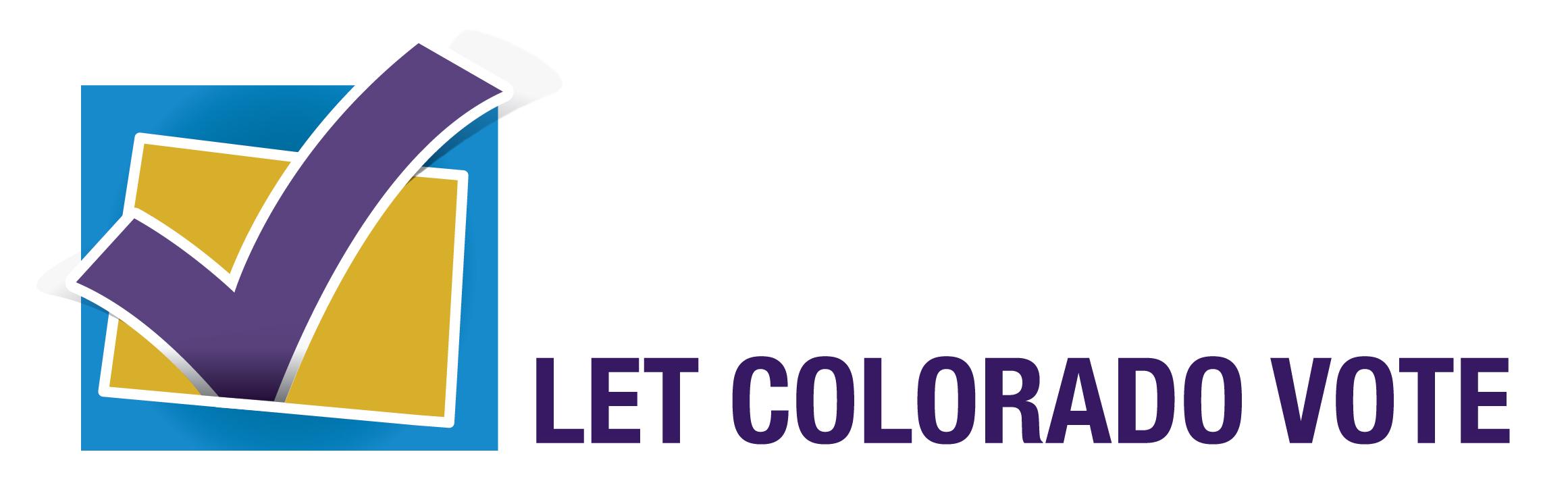 Let Colorado Vote 2016 logo