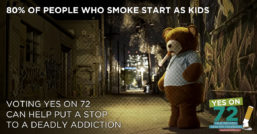 Smoking Teddy Yes on 72
