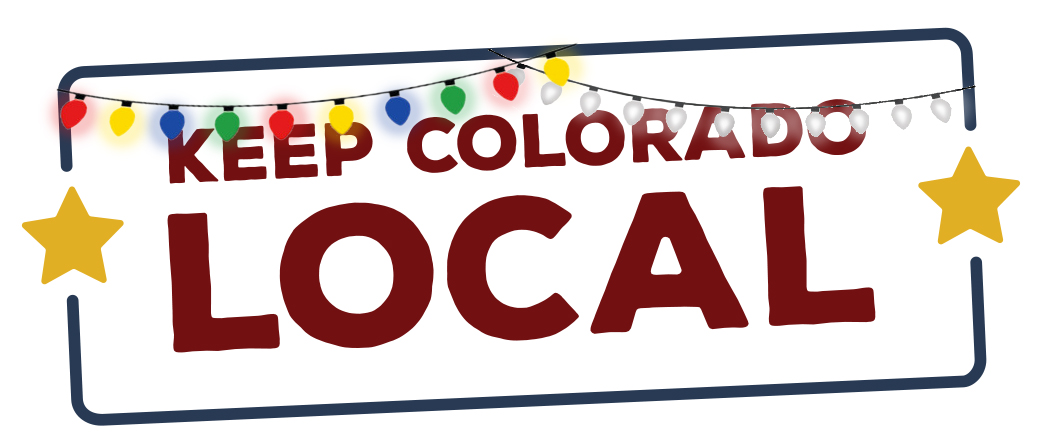 Keep Colorado Local Holiday logo variation