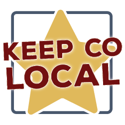 Keep Colorado Local social media logo variant