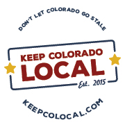 Keep Colorado Local logo variant.