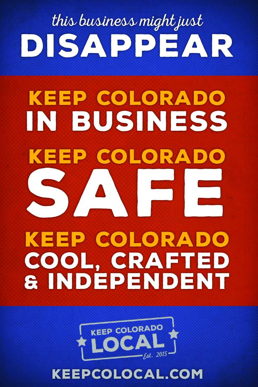 Keep Colorado Local!