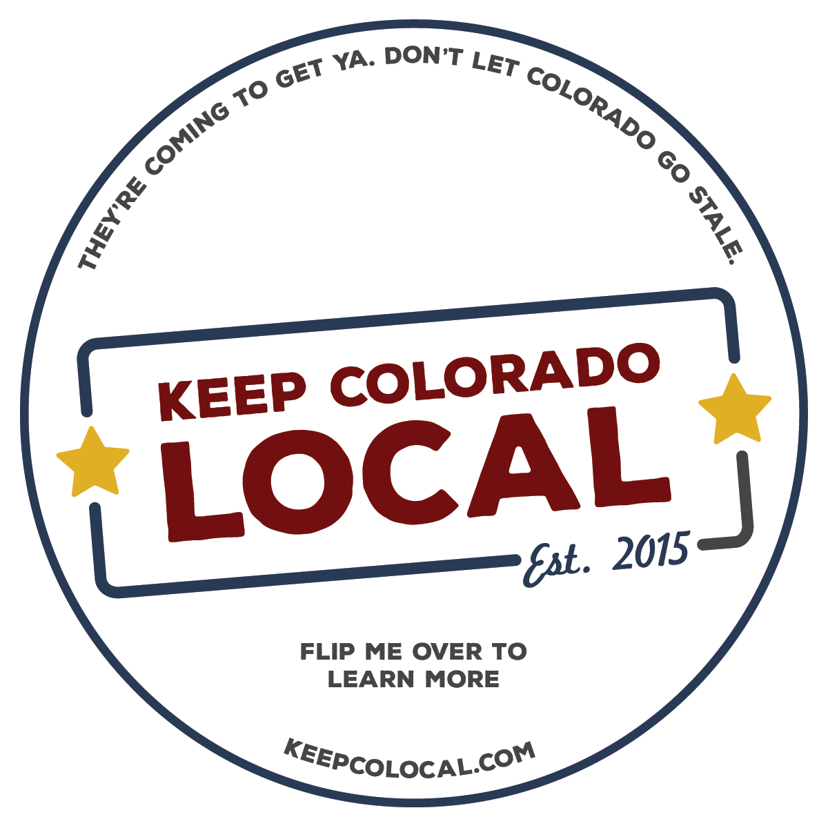 KCL coasters distributed to breweries around the state (front)