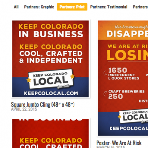 KEEP COLORADO LOCAL WEB SITE