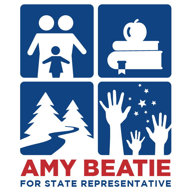 Amy Beatie for Colorado campaign logo social variant
