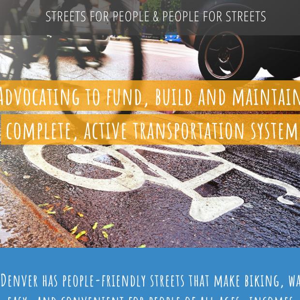 DENVER STREETS PARTNERSHIP WEB SITE