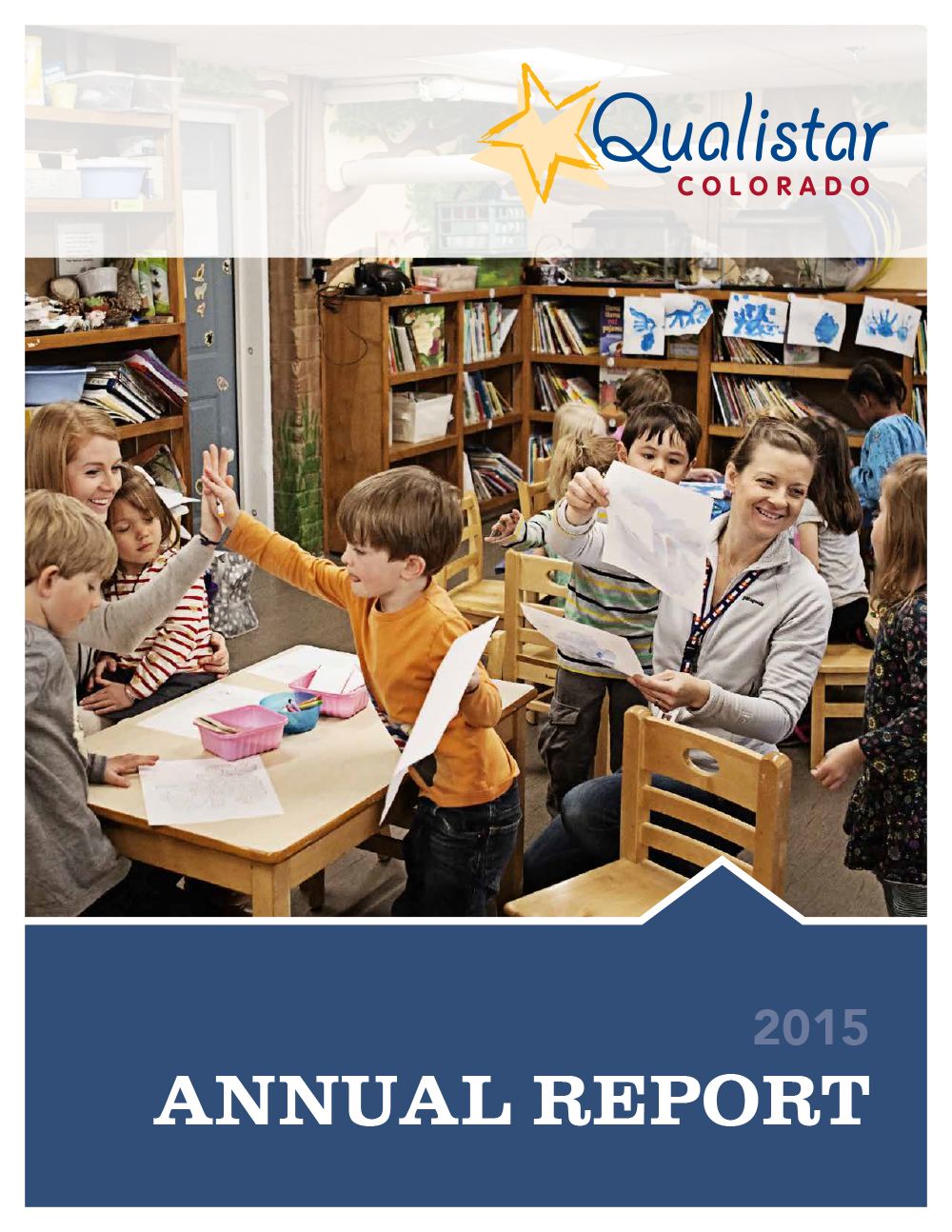 Qualistar Annual Report cover